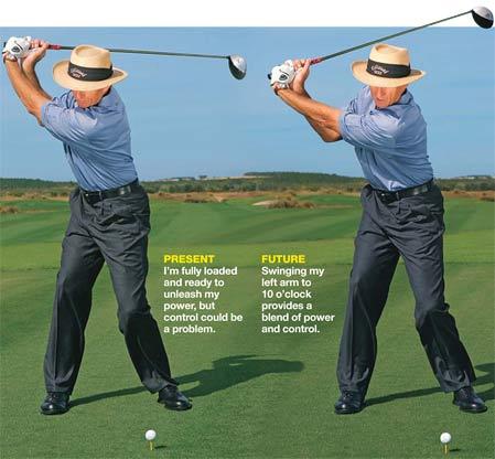 a good golf swing